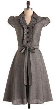 Pretty retro dress.