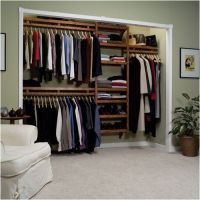 open closet storage ideas | house | Pinterest