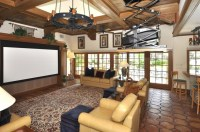 projector screen tv in living room | For the Home | Pinterest