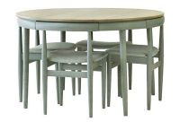 Dining Table with Hideaway Chairs