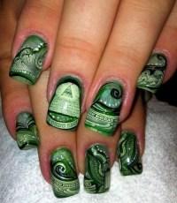Money Nails   FINGERNAILS   Pinterest
