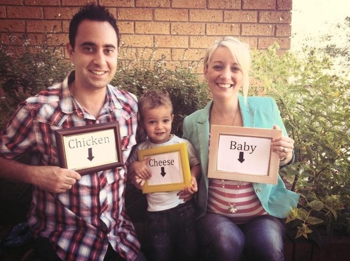 pictures of pregnancy announcement