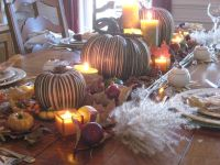 Thanksgiving | Table setting & decorations | Pinterest