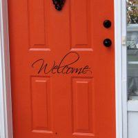 Front Doors Creative Ideas: Front Door Signs