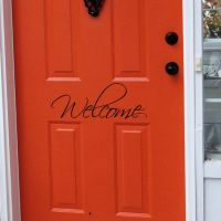 Front Doors Creative Ideas: Front Door Signs