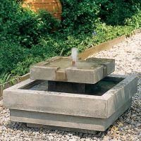 Concrete fountain | DIY | Pinterest