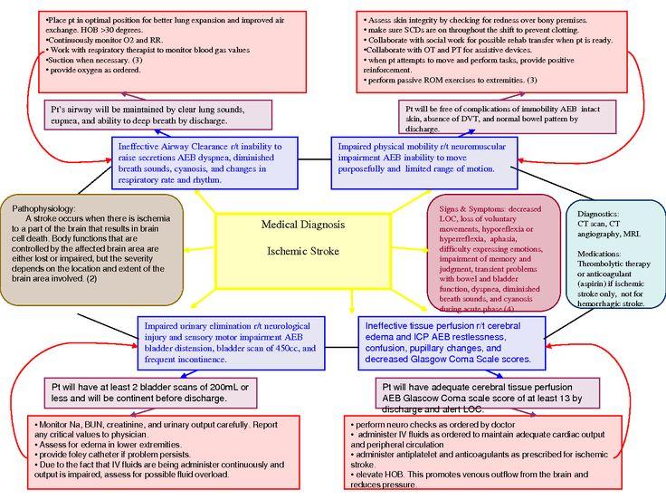 Diabetes Nursing Map Concept
