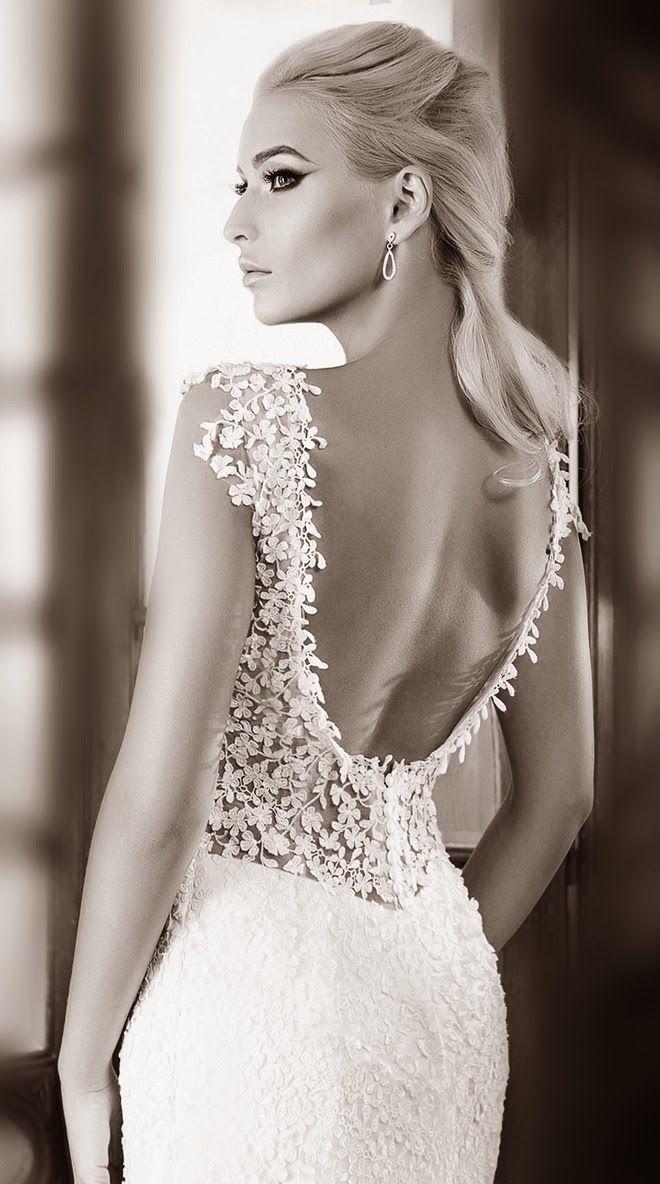 One Love by Bien Savvy 2014 #weddingdress | bellethemagazine.com