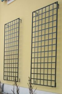 metal wall mount trellis
