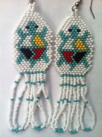 Beaded Turtle Earrings | eBay | Peyote and other Patterns ...