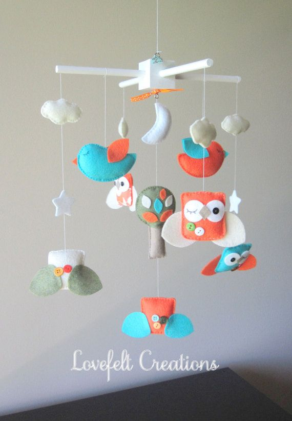 Baby Crib Mobile Baby Mobile Custom Baby Mobile By