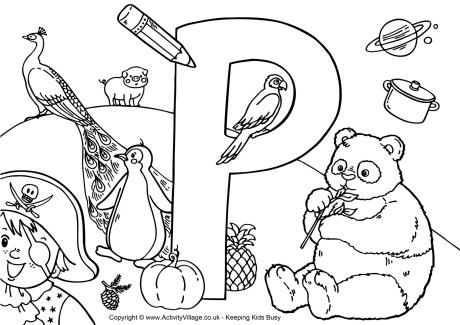 I Spy Pages Coloring Pages