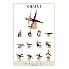 Pilates Chair For Sale Used Gym Malibu Exercise Does Really Help You Balanced Body I Poster Healthy Food