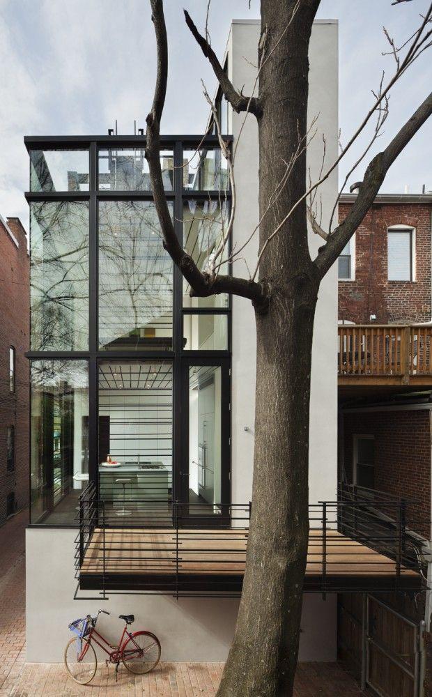 Barcode House | David Jameson Architect.