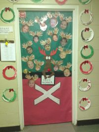 Christmas Door Decorations For Daycare | Psoriasisguru.com