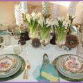 Spring tablescape home pinterest