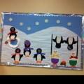 Penguin bulletin board idea bulletin boards pinterest