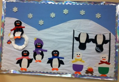 Penguin Bulletin Boards Ideas