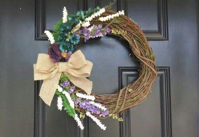 Front Door On Pinterest Front Doors Door Wreath And Wreaths
