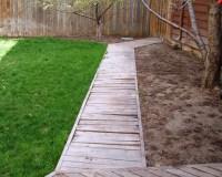wood walkway   My Backyard   Pinterest