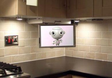 Under Cabinet Tv