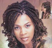 two strand twist hair
