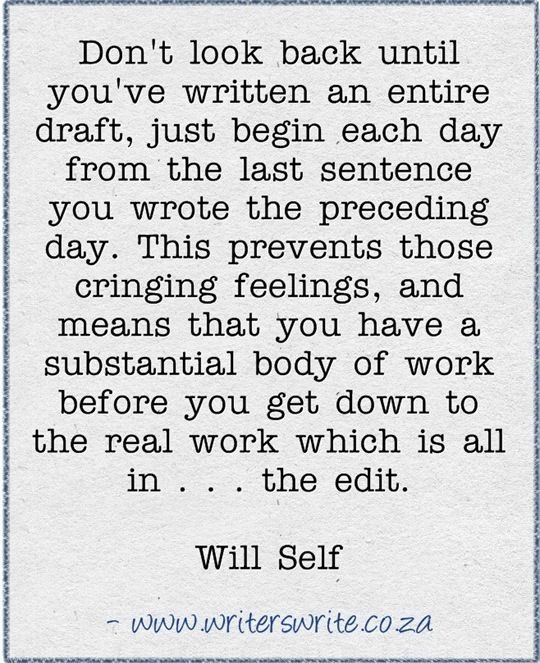 Quotable quotes about writing