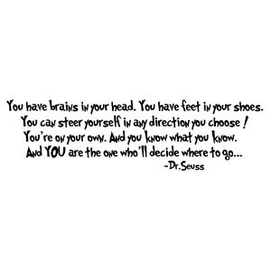Dr Seuss Quotes About Graduation. QuotesGram