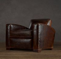 Library Leather Chair for the Man Cave! | Home improvement ...