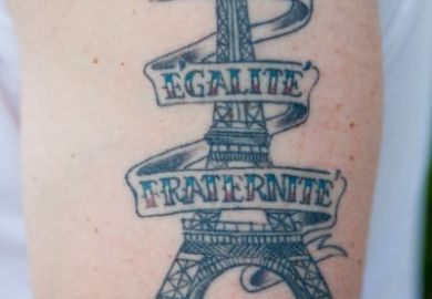 Eiffel Tower Tattoo Designs