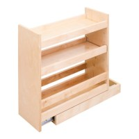 Pull out spice rack organizer