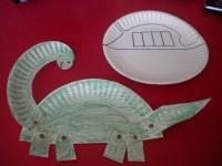 Paper Plate Dinosaur | Dinosaurs | Pinterest