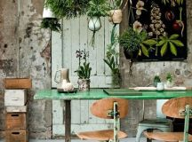 ADORED VINTAGE: 12 Hanging Plant Ideas | Vintage Inspired ...