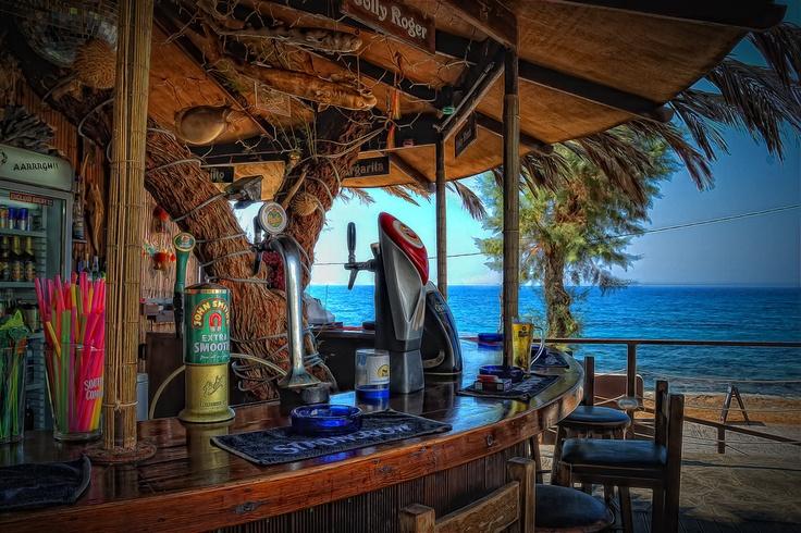 Jolly Roger Bar, Sissi, Greece.