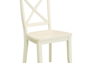 White Vintage Dining Chairs