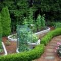 Raised vegetable cutting flower beds gardens pinterest