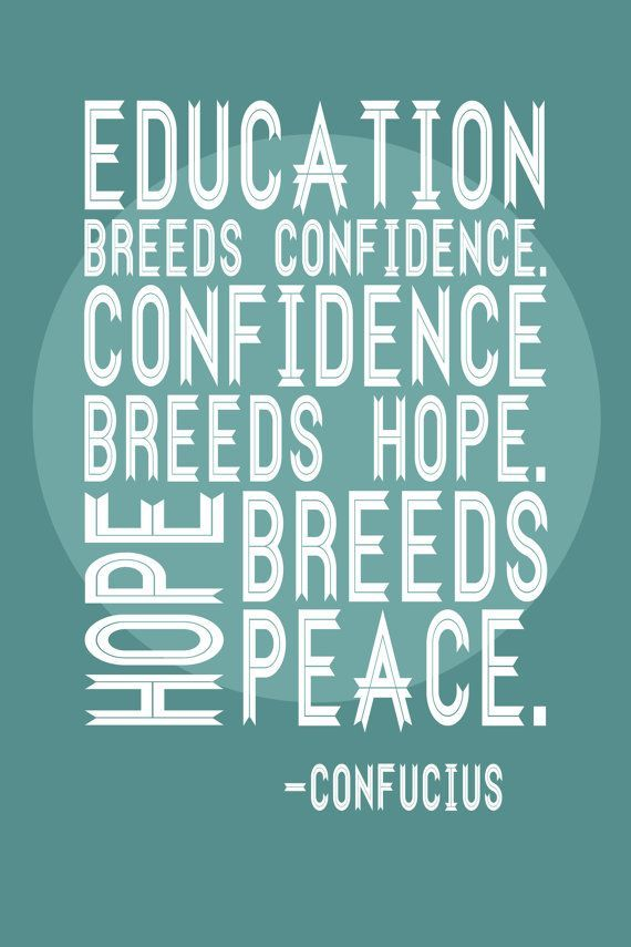 Happy #Teachers: Changing the World in Three Easy Steps: education, confidence, hope equals #peace  visiting collegereadycoach for more teaching inspiration