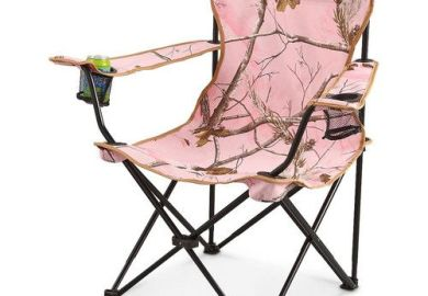 Pink Camo Chair