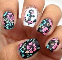 Hawaii Nails! ;) | Nail Art | Pinterest