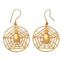 Spider web earrings | Jewelry | Pinterest