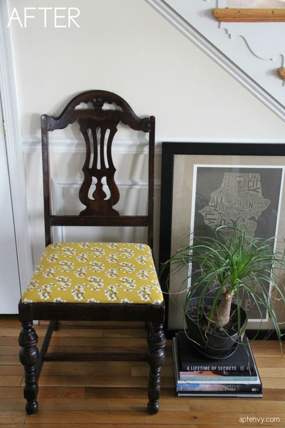 How to upholster dining chairs