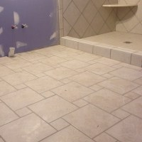 Pinwheel design floor tile | Dream House | Pinterest