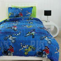 Motocross single bedding | Michael room | Pinterest