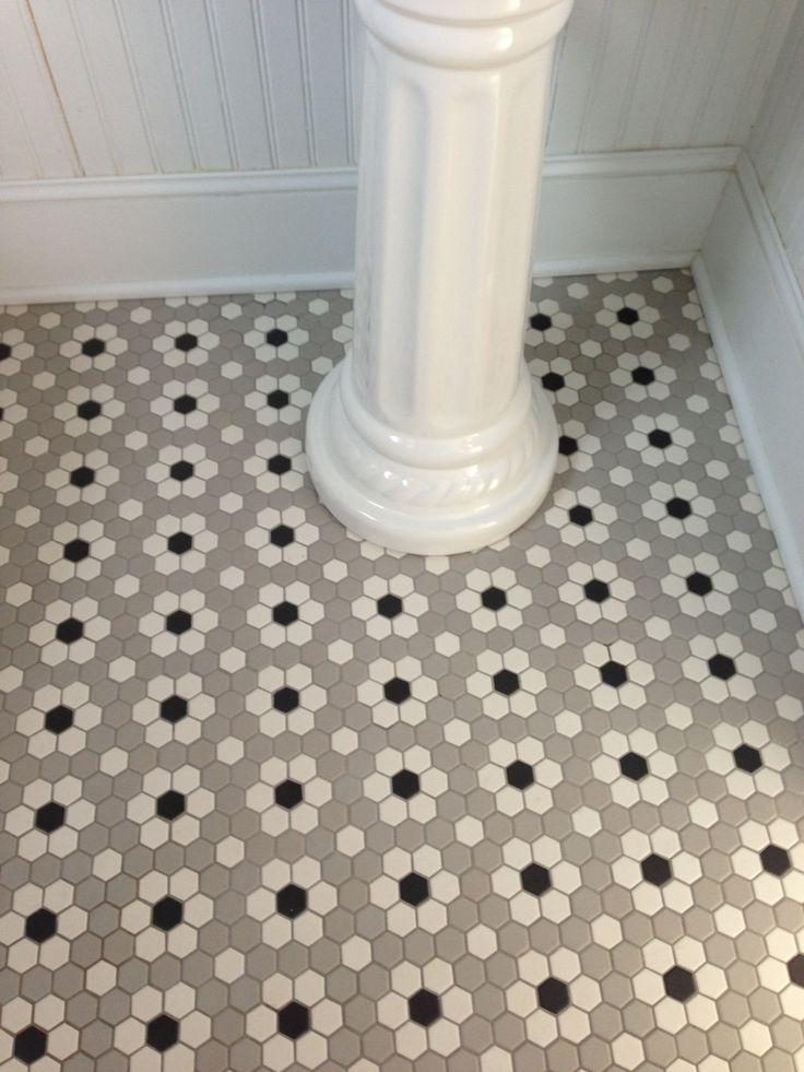 Ceramic Mosaic Hex Tile