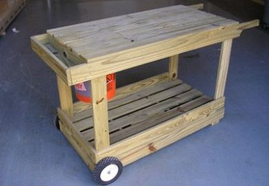 How To Build A Portable Potting Bench And This Site Has