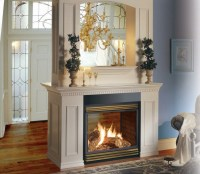 Double Sided Fireplace | Casual Cottage
