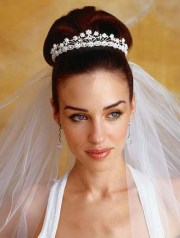 veil bridal hairstyles
