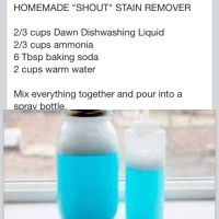Homemade Stain Removers | Car Interior Design
