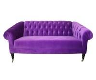 Bright Purple Tufted Sofa! | Furniture | Pinterest