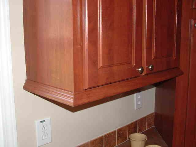 Under cabinet trim